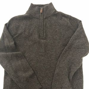 Jcrew men's gray slim fit sweater